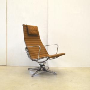 Herman Miller EA124 Lounge Chair Interior Aksel Aachen Collector Eames
