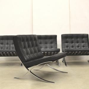 Mies v. d. Rohe Barcelona Chair Sessel Knoll Interior Aksel Aachen Design