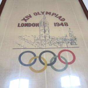 Olympia Banner Fahne Olympia 1948 London Interior Aksel Aachen Design