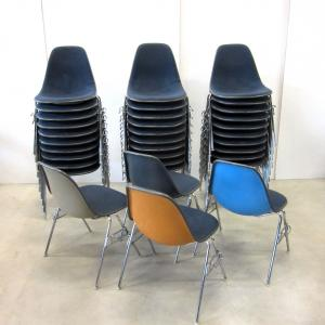 Herman Miller Eames Side Chair London Theatre Interior Aksel Aachen