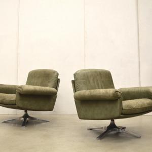 De Sede DS31 Lounge Chair Sessel Interior Aksel Aachen Design Vintage