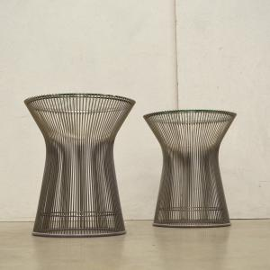 Warren Platner Wire Side Table Beistelltisch Interior Aksel Aachen Paris Design Furniture
