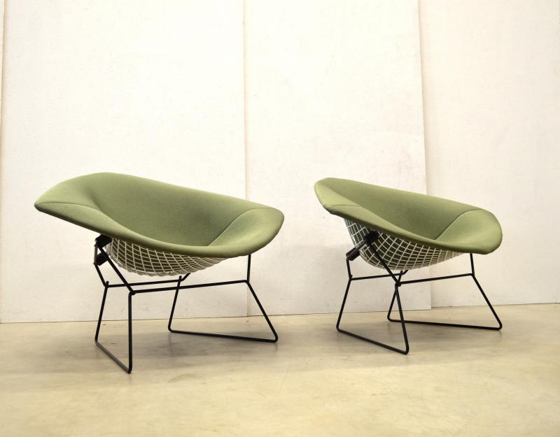 Harry Bertoia XL Diamond Chair Knoll Interior Aksel Aachen