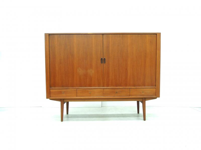 Arne Vodder Highboard Sibast Furniture Denmark Interior Aksel Aachen Design