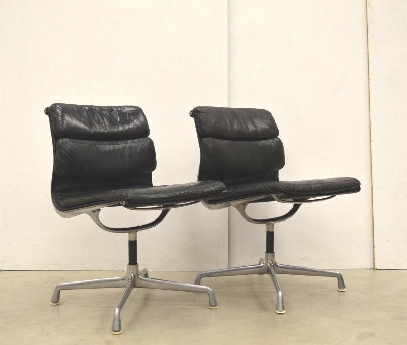 Herman Miller EA206 Soft Pad Chair Eames Interior Aksel Aachen Paris