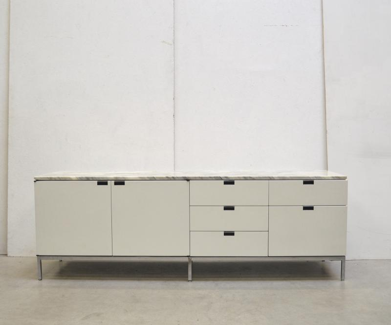 Florence Knoll Marble Marmor Sideboard Credenza Interior Aksel Buy Sell Design Furniture Paris London